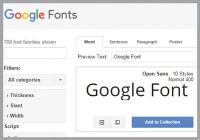 Google-Font